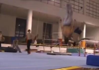 Tréninky akrobacie