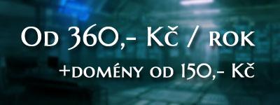 Nejýhodnější webhosting v ČR
