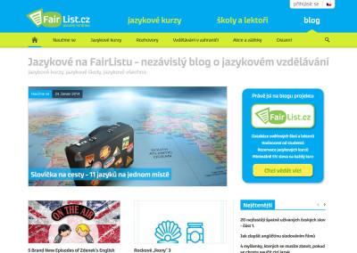 Blog Jazykové