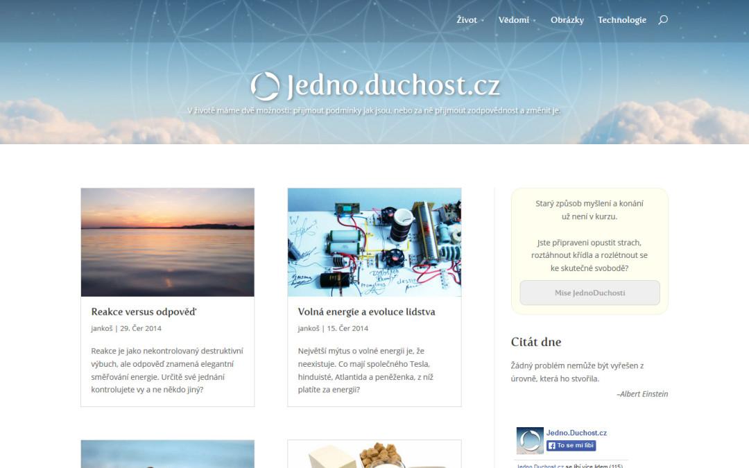 Jedno.Duchost.cz blog
