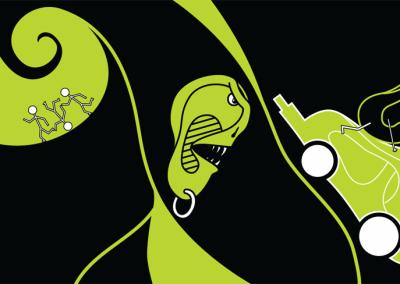 Ucho – ilustrace